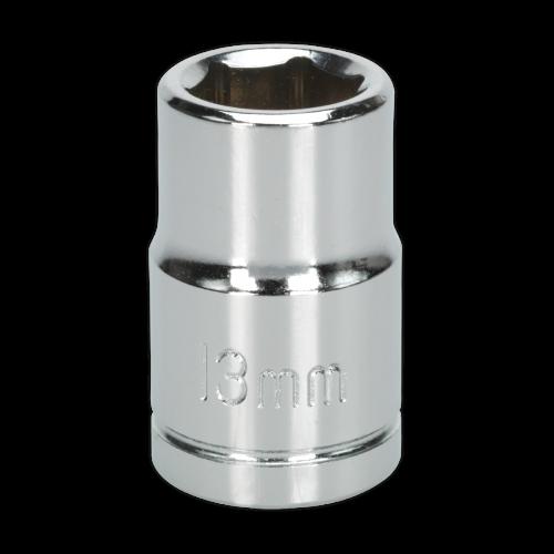 "Sealey Tools Wall Drive Socket 13mm 1/2"" Drive"