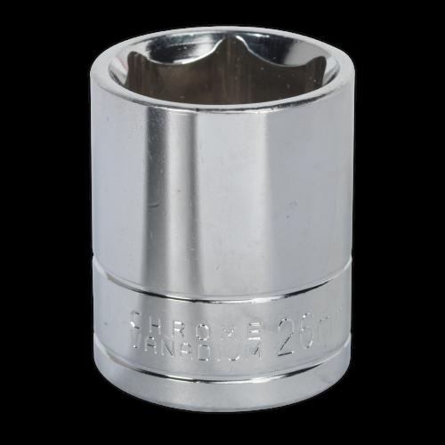 "Sealey Tools Wall Drive Socket 26mm 1/2"" Drive"