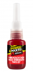Power Maxed Threadlock High Strength Red 10ml