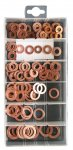 Pearl Assorted Copper Washers - Pack of 100