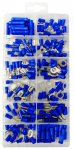 Pearl Assorted Pre Insulated Terminals - Blue - Pack of 165
