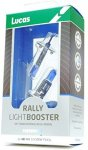 Lucas Light Booster Bulb 12v 100w H1 Rally Blue (Pack of 2)