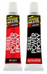 Power Maxed Steel Power Epoxy Putty Stick 57g